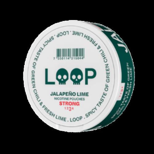 Loop Jalapeno Lime Slim  nikotínové sáčky