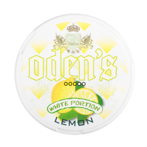 Odens Lemon White Portions