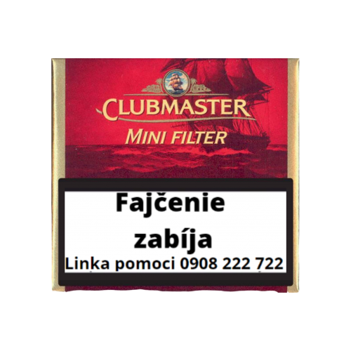CLUBMASTER Mini Red Filter cigarky