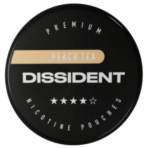 DISSIDENT PEACH TEA STRONG nikotínové sáčky