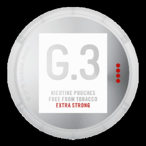 GENERAL G.3 EXTRA STRONG nikotínové sáčky