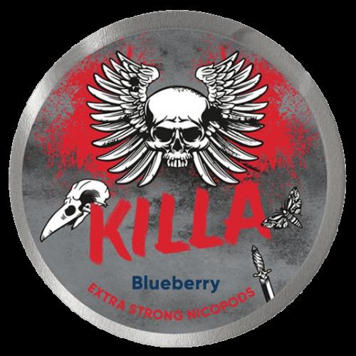 KILLA Blueberry nikotínové sáčky