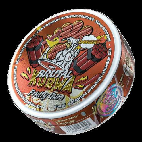 Kurwa Fruity Gum Brutal nikotínové sáčky