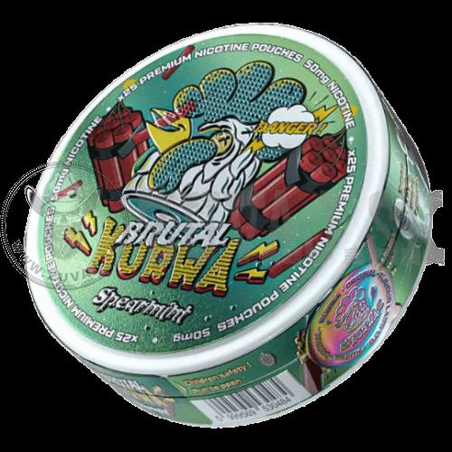 Kurwa Spearmint Brutal nikotínové sáčky