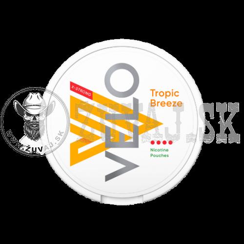 VELO Tropic Breeze X-Strong Nikotínové sáčky