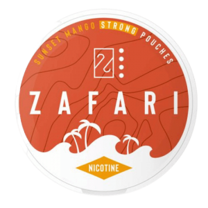 Zafari Sunset Mango nikotínové sáčky