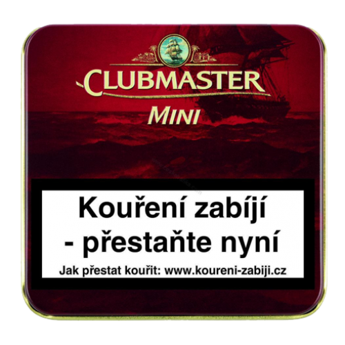 CLUBMASTER Mini Red cigarky