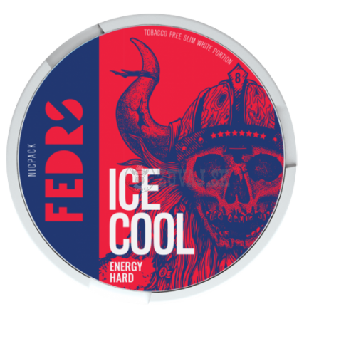FEDRS Ice Cool Energy Hard 8 nikotínové sáčky