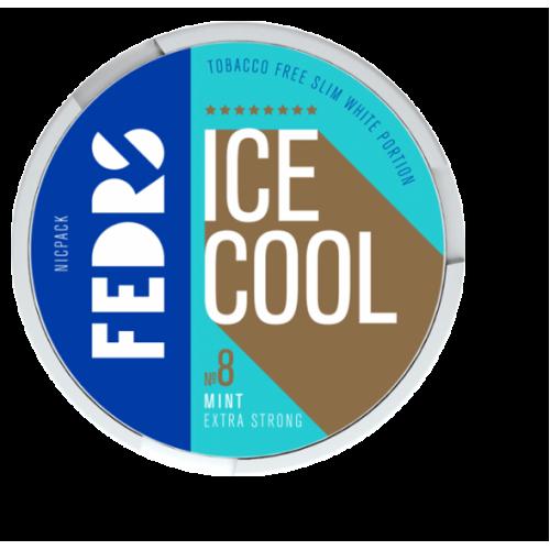 FEDRS Ice Cool Mint 8 nikotínové sáčky