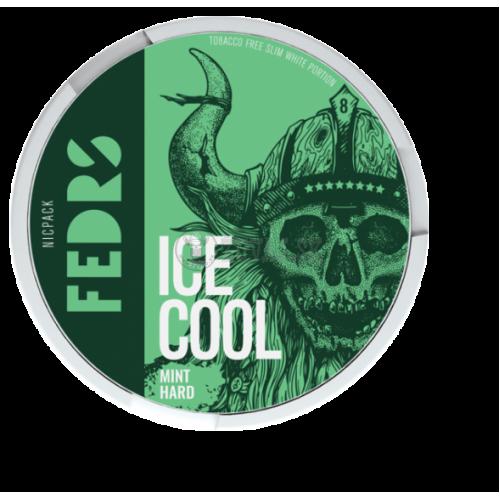 FEDRS Ice Cool Mint Hard 8 nikotínové sáčky