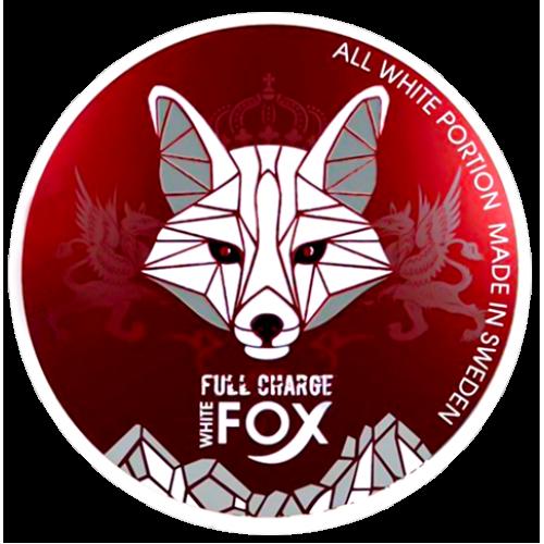 WHITE Fox Full Charge nikotínové sáčky