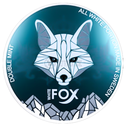 WHITE Fox Double Mint 16mg/g