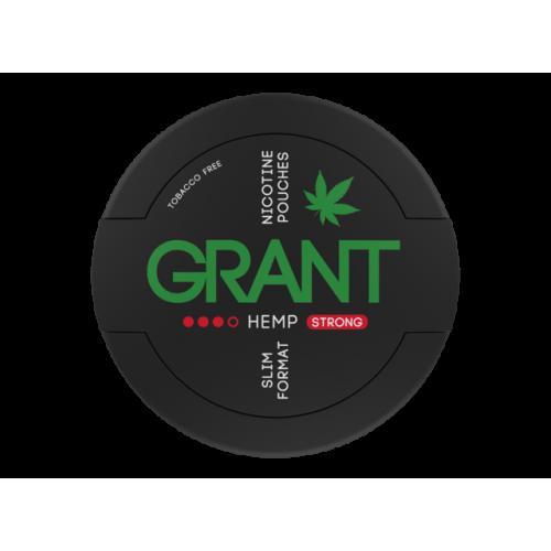 GRANT HEMP  nikotínové sáčky