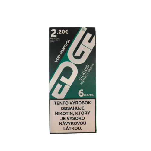 EDGE 6MG Very Menthol (Výpredaj)