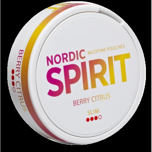 Nordic Spirit Berry Citrus nikotínové vrecká