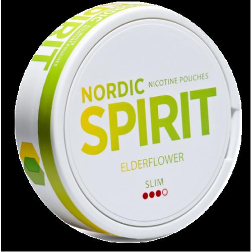 Nordic Spirit Elderflower nikotínové vrecká