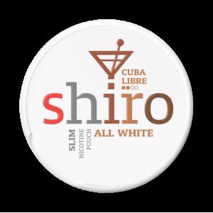 SHIRO Cuba Libre Slim nikotínové sáčky