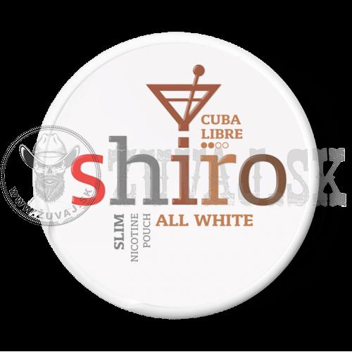 SHIRO Cuba Libre Slim nikotínové sáčky 1+1