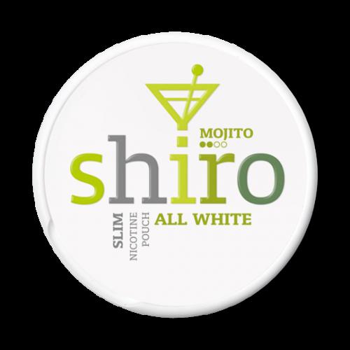 SHIRO MOJITO Slim - nikotínové sáčky