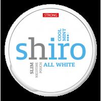 1+1 Zadarmo SHIRO Cool Mint Slim nikotínové sáčky