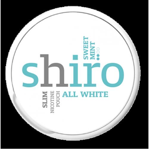 1+1 Zadarmo SHIRO Fresh Mint Slim nikotínové sáčky