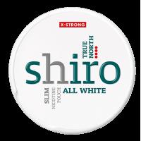 1+1 Zadarmo SHIRO True North Slim nikotínové sáčky