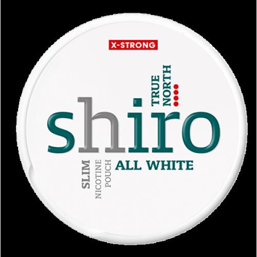 SHIRO True North Slim nikotínové sáčky