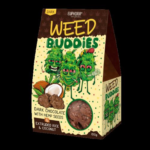 EUPHORIA Weed Buddies Dark Sušienky