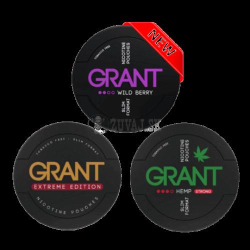 GRANT Mix nikotínové sáčky
