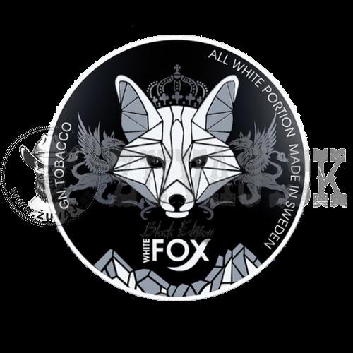 White Fox Black 30mg/g 1+1 Zadarmo