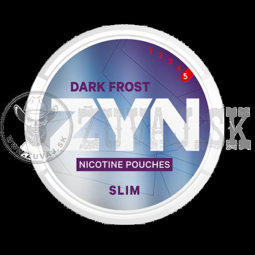 ZYN Dark Frost Slim Nikotínové sáčky