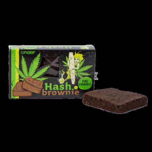 EUPHORIA Hash Konopné Brownie