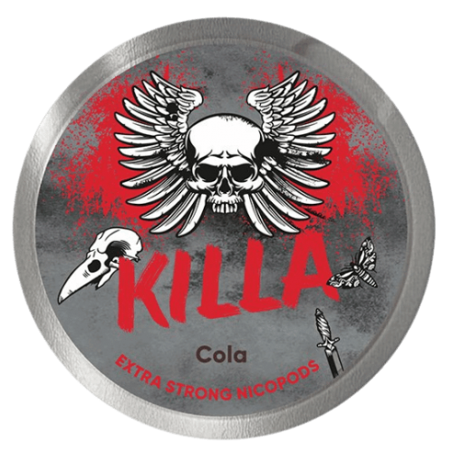 KILLA Cola Extreme Strong nikotínové sáčky