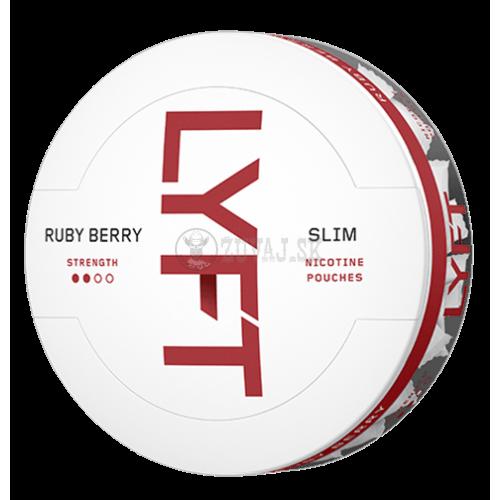 LYFT Ruby Berry nikotínové sáčky