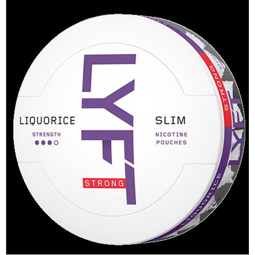 1+1 Zadarmo LYFT Liquorice-X nikotínové sáčky