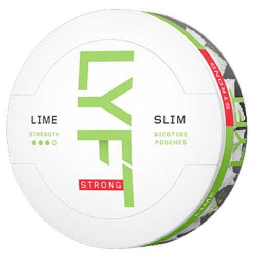 1+1 Zadarmo LYFT Lime-X nikotínové sáčky