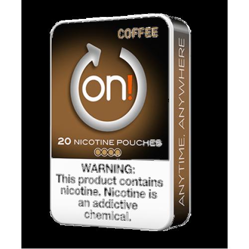 ON ! Coffee 3 mg nikotínové sáčky