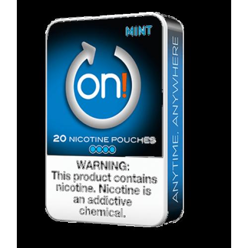 ON ! Mint 6 mg nikotínové sáčky