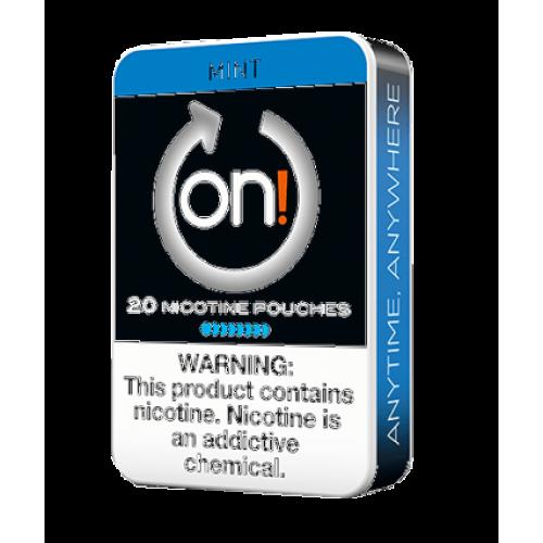ON ! Mint 8 mg nikotínové sáčky