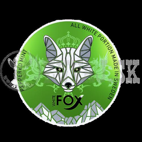 WHITE Fox Peppermint 16mg/g 2+1 Zadarmo