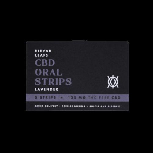 CBD Oral Strips Elevar Leafs Lavender