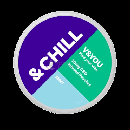 V&YOU&CHILL -  MINT CBD Vrecúška