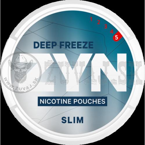 ZYN Deep Freeze Slim Nikotínové sáčky